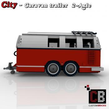 lego city trailer wohnwagen camper vw t1. Black Bedroom Furniture Sets. Home Design Ideas