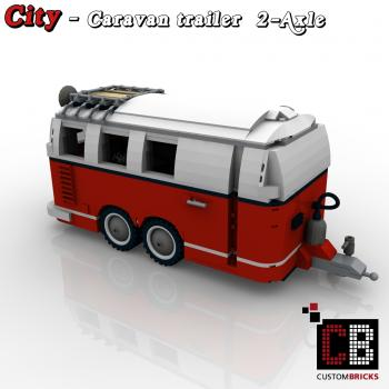 lego city trailer wohnwagen camper vw t1. Black Bedroom Furniture Sets. Home Design Ideas
