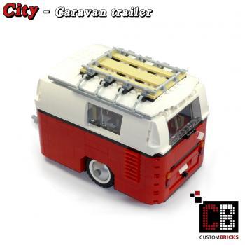 lego custom modell wohnwagen anh nger. Black Bedroom Furniture Sets. Home Design Ideas