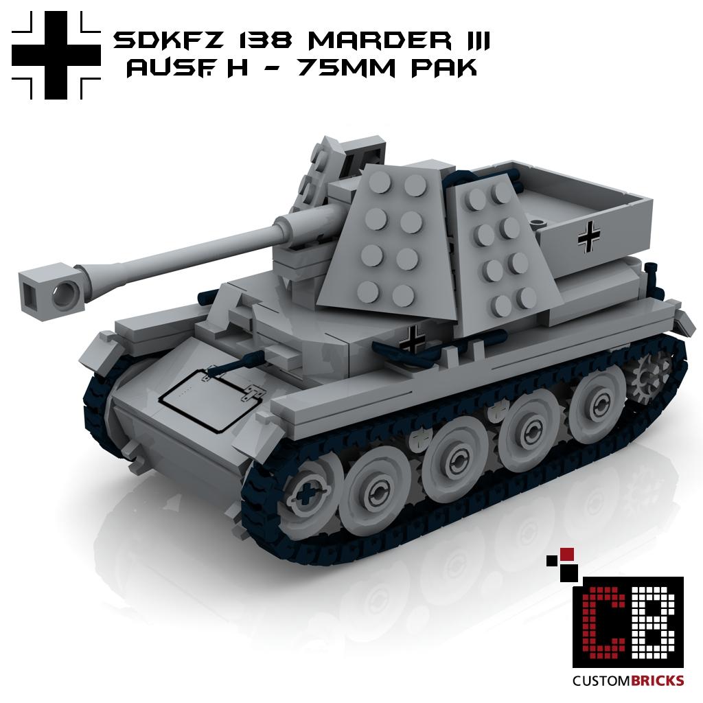 custom ww2 deutsches panzer set 2 t35 t38 marder wespe stug 3a und 3b wwii. Black Bedroom Furniture Sets. Home Design Ideas