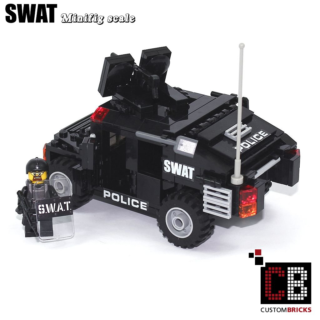 Lego Swat Photo1: CUSTOM Modell MOC City SWAT Special