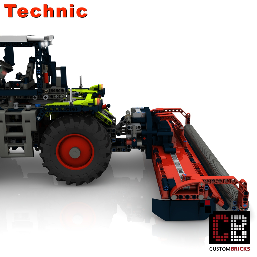 lego technik modell custom claas. Black Bedroom Furniture Sets. Home Design Ideas