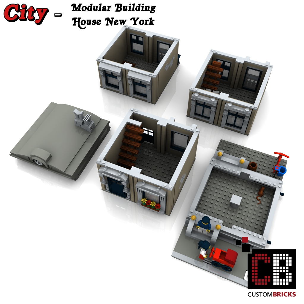 New York Bricks Building
