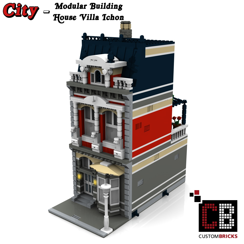 lego city creator expert haus house. Black Bedroom Furniture Sets. Home Design Ideas