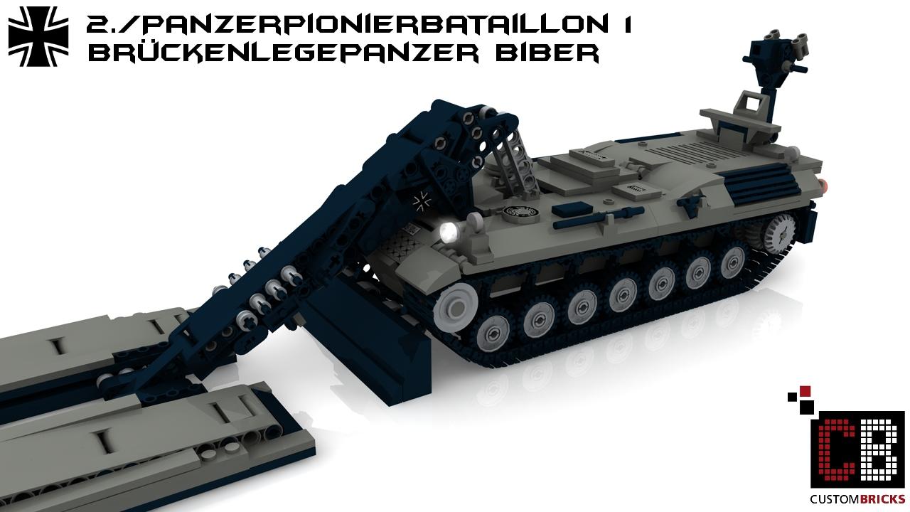 lego bundeswehr panzer tank pioniere pionierpanzer schnellbr cke. Black Bedroom Furniture Sets. Home Design Ideas