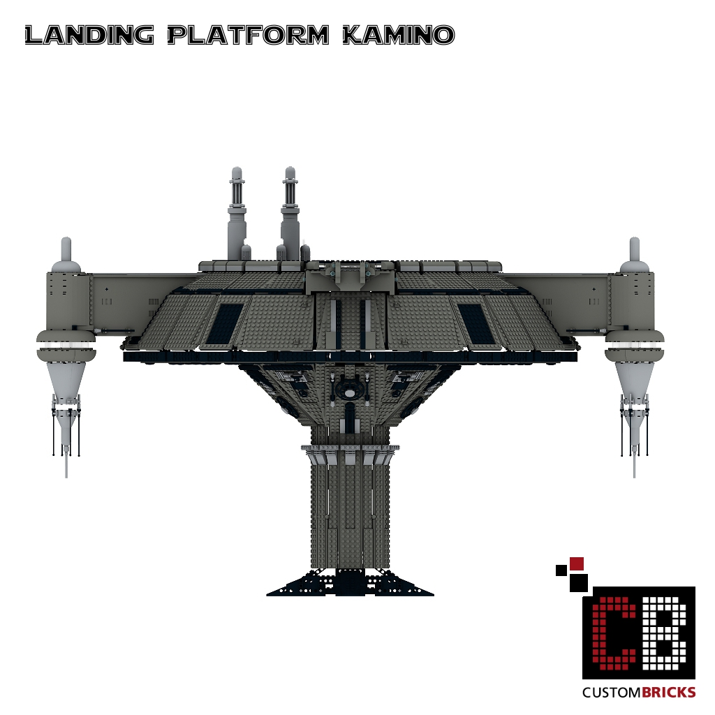 lego custom star wars ucs slave i kamino landeplattform. Black Bedroom Furniture Sets. Home Design Ideas
