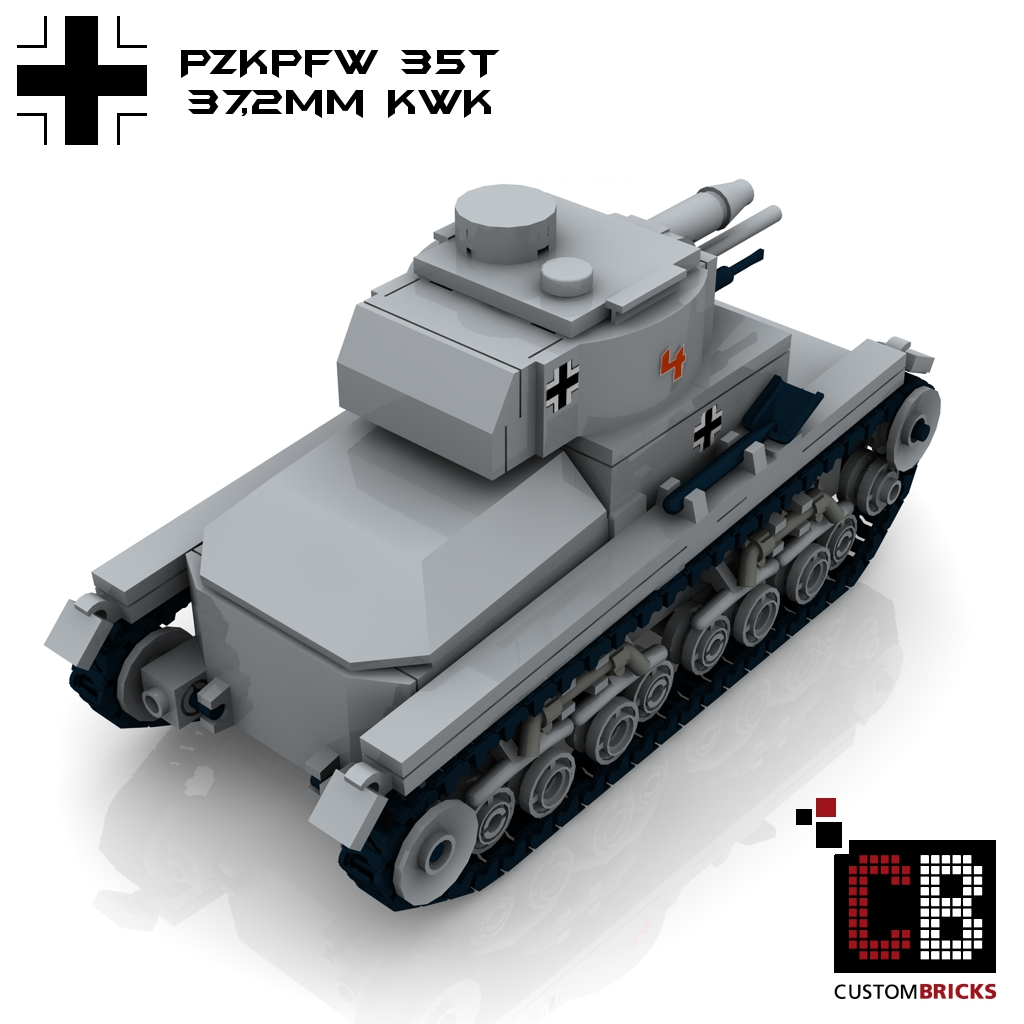 custom ww2 pzkpfw panzerkampfwagen 35t panzer wwii. Black Bedroom Furniture Sets. Home Design Ideas