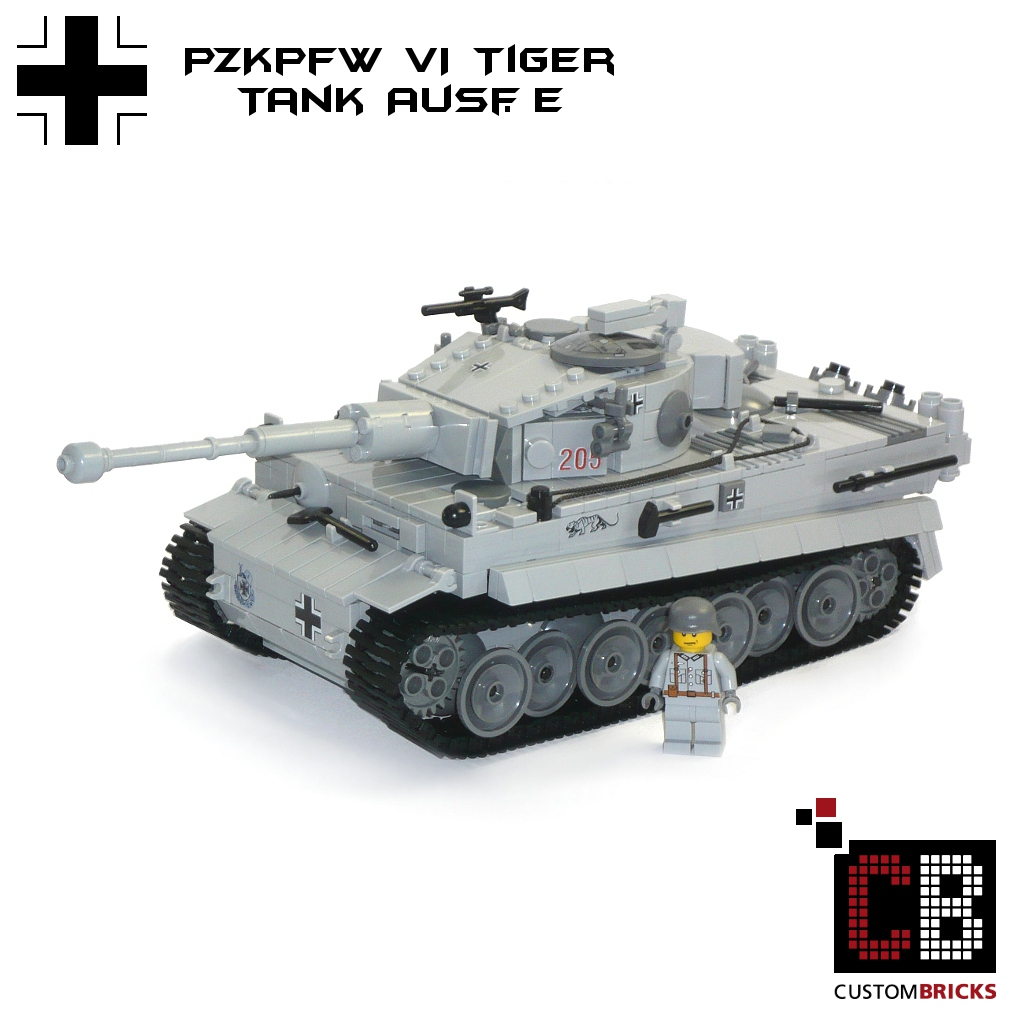 custom ww2 pzkpfw vi tiger tank and 2. Black Bedroom Furniture Sets. Home Design Ideas