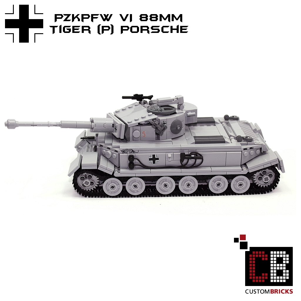 Custombricks De Lego Ww2 Wwii Wehrmacht Sdkfz Panzer