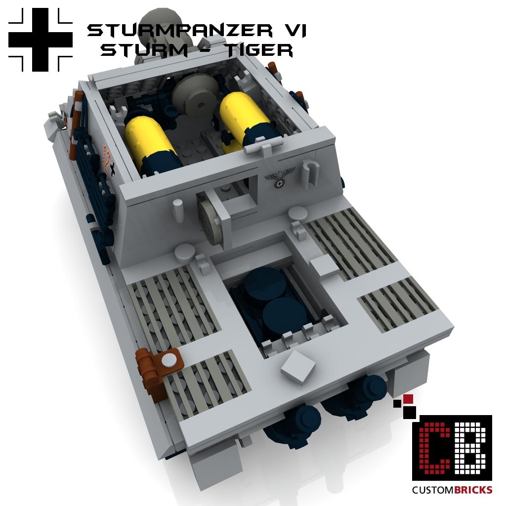 lego ww2 wwii panzer tank panzerkampfwagen pzkpfw sturmpanzer sturmtiger tiger. Black Bedroom Furniture Sets. Home Design Ideas