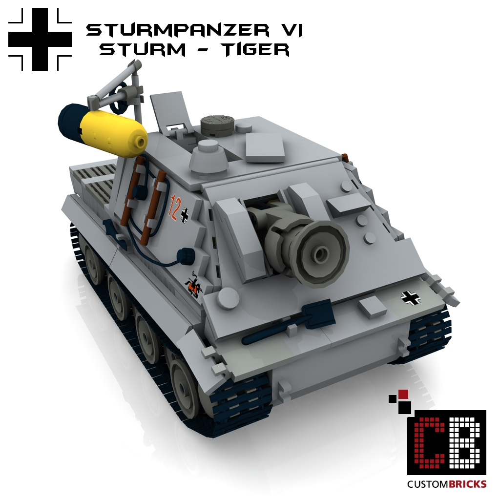 lego ww2 wwii panzer tank panzerkampfwagen pzkpfw sturmpanzer sturmtiger tiger. Black Bedroom Furniture Sets. Home Design Ideas