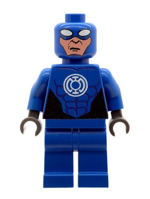 CUSTOMBRICKS.de - Custom Figurs Blue Lantern of LEGO® bricks