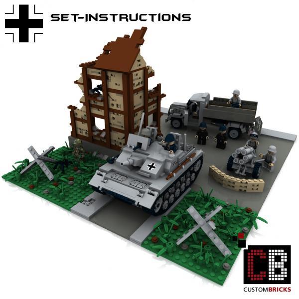 Lego Ww Tank Building Instructions