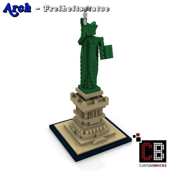 lego statue of liberty base instructions