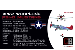 Sticker/Decals WW2 Warplane