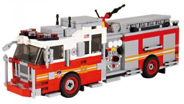 BB - US Fire Truck Seagrave Pumper Version 1 red/white