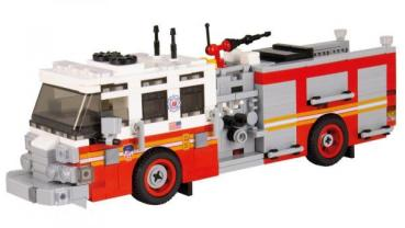 BB - US Fire Truck Pierce Quantum Pumper Version 2 red/white