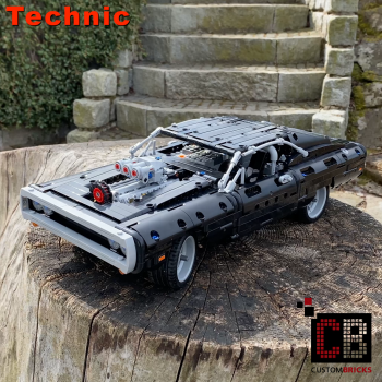 Custom Dodge Charger RC modification