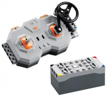 CaDA Power Functions   2.4GHz Remote Control and Equipment X1 and 2.4GHz Batterie/Receiver Rechargeable Box Pro X1