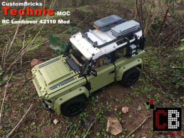 Custom Landrover RC modification pats