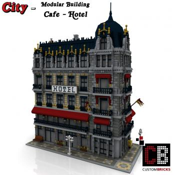 Custom Modular Building - Cafe - Hotel