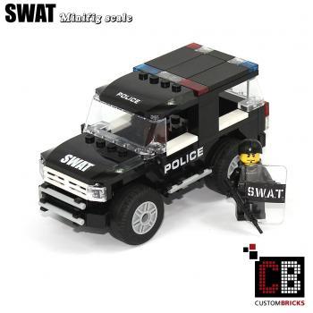 Custombricksde Custombricks Gefahrengut Polizei Swat Aus Lego
