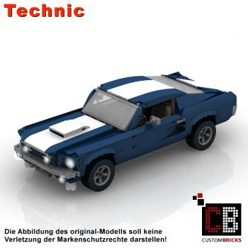 Custom 10265 Mustang - RC modification PF 2.0