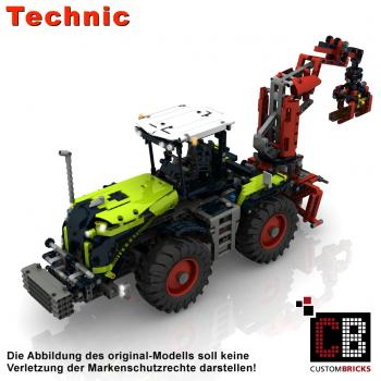 Custom 42054 CLAAS Xerion - RC modification parts