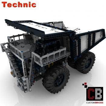 CUSTOM RC Mine Dump Truck