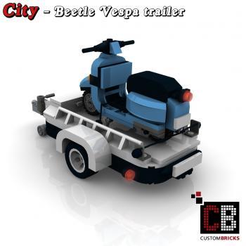 lego custom moc city caravan trailer. Black Bedroom Furniture Sets. Home Design Ideas