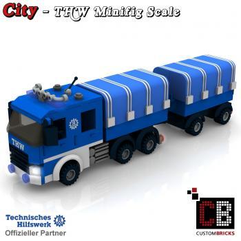 Custombricks Lego Custom Moc City Thw Model Bauanleitung