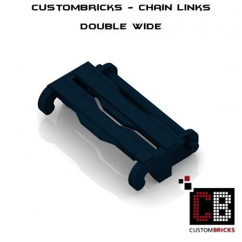 CustomBricks Chain Links - 100x Double Wide