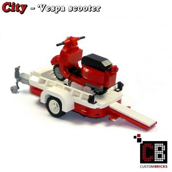 lego custom city modell t1 bus vw 10220. Black Bedroom Furniture Sets. Home Design Ideas