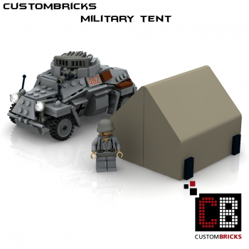 Custom WW2 military tent Instruction