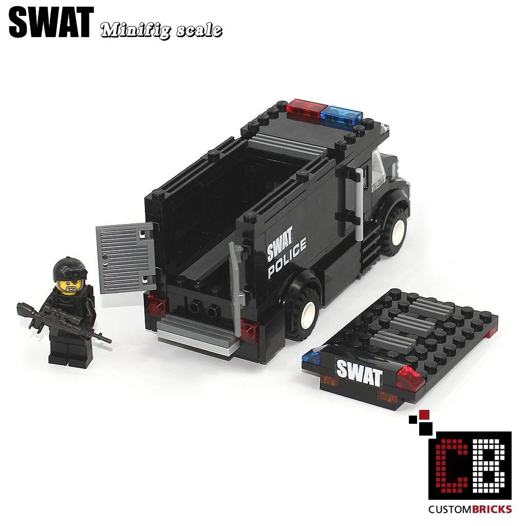 Custombricksde Custom Modell Moc City Swat Fahrzeug