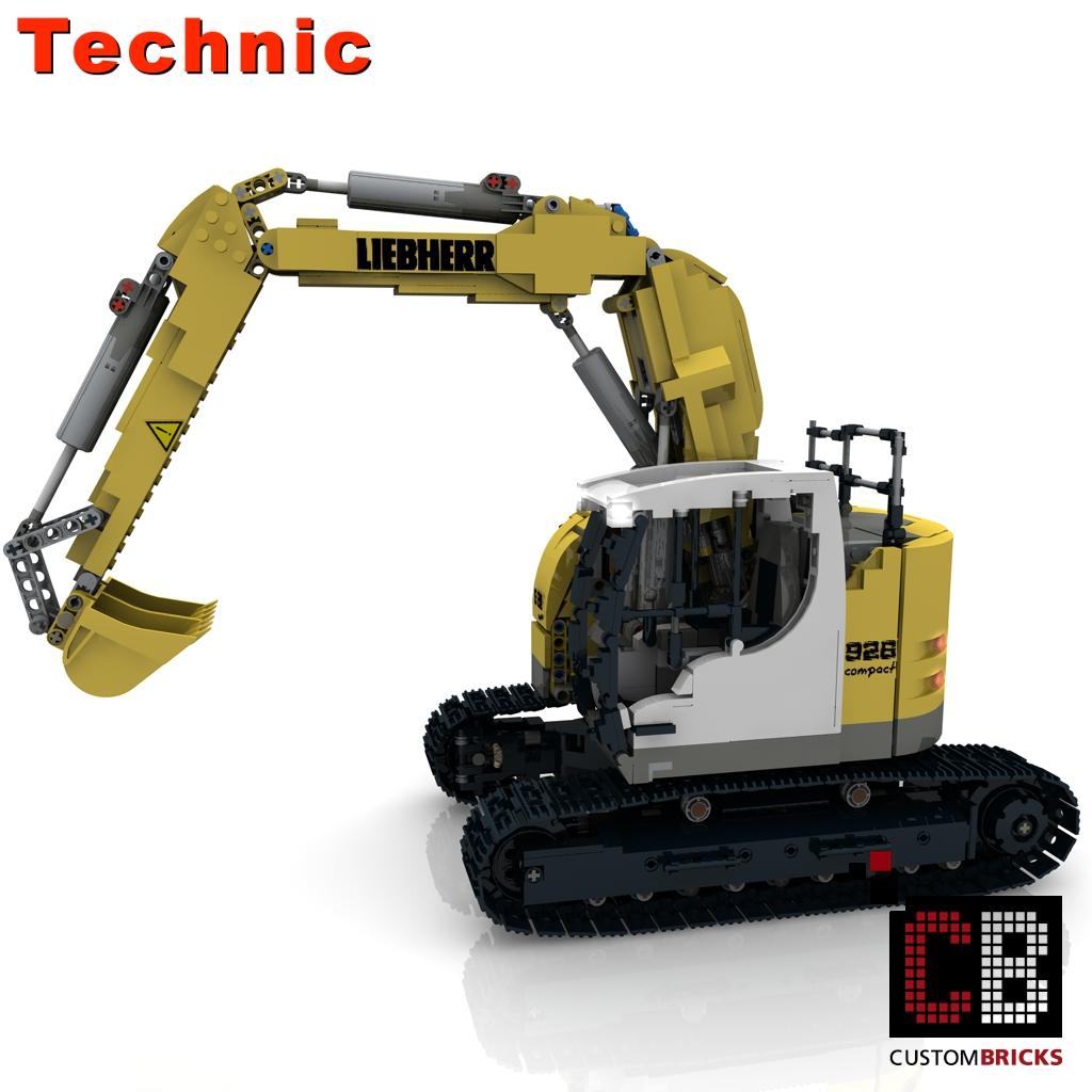 CUSTOMBRICKS de - LEGO Technic model Custombricks MOC