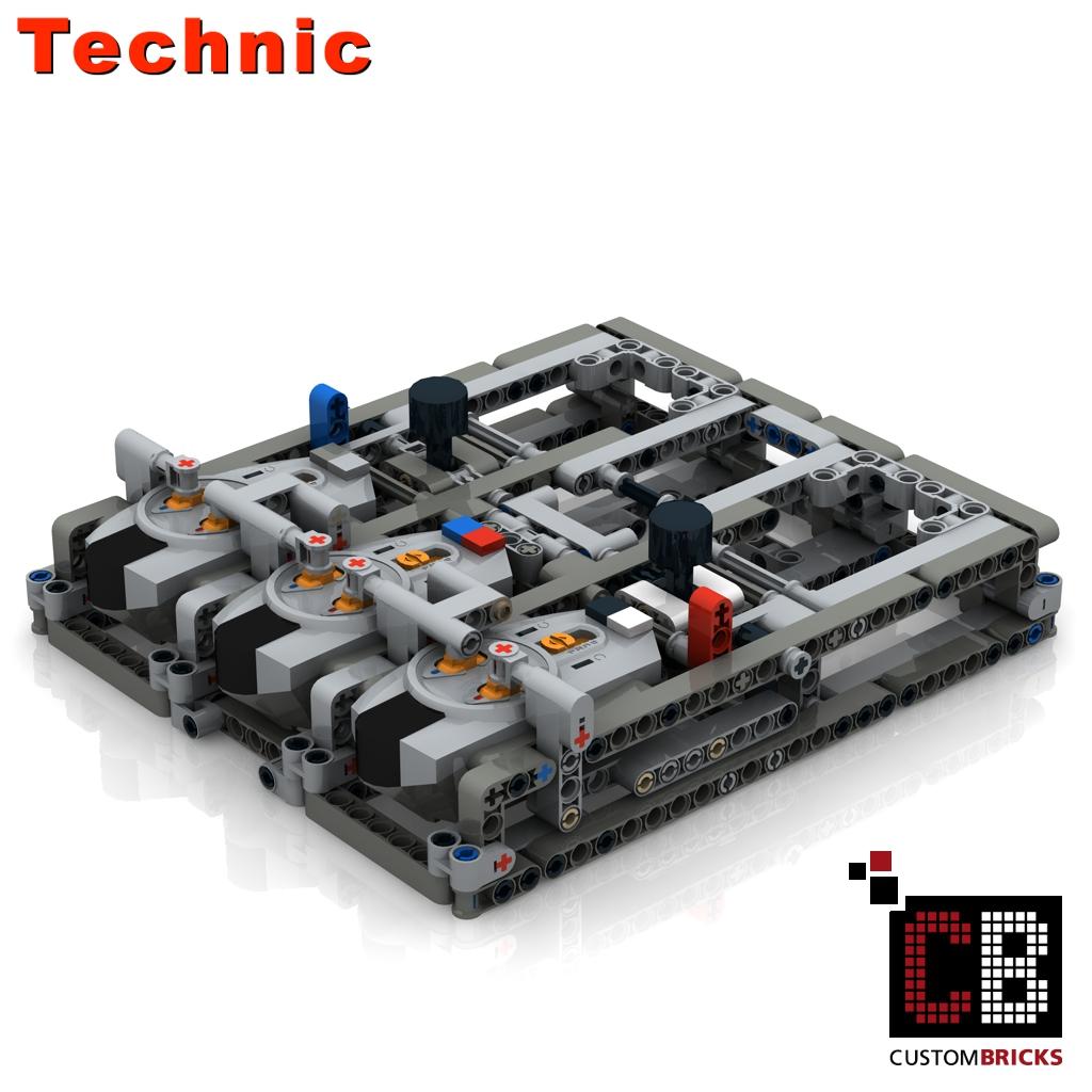 Custombricks Lego Technic Model Custombricks Moc Instruction
