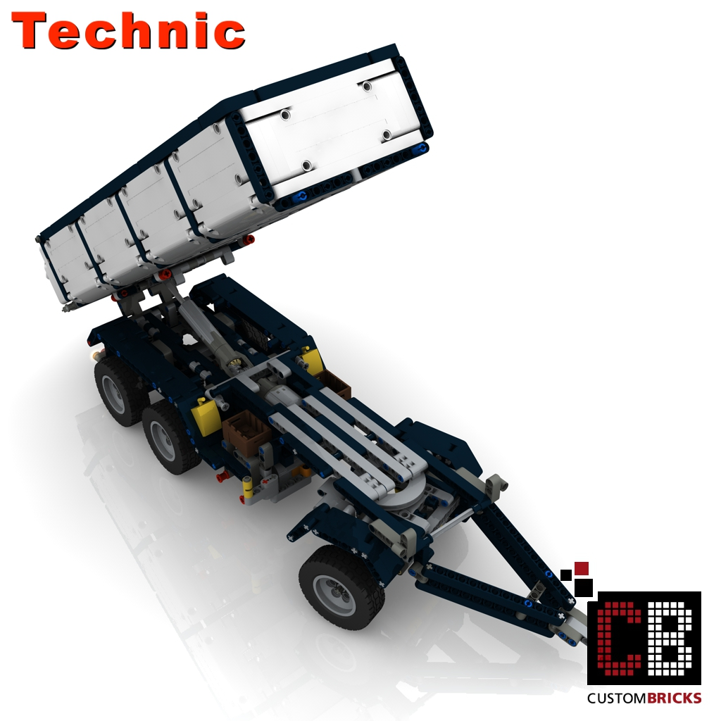lego technic model custombricks moc instruction. Black Bedroom Furniture Sets. Home Design Ideas