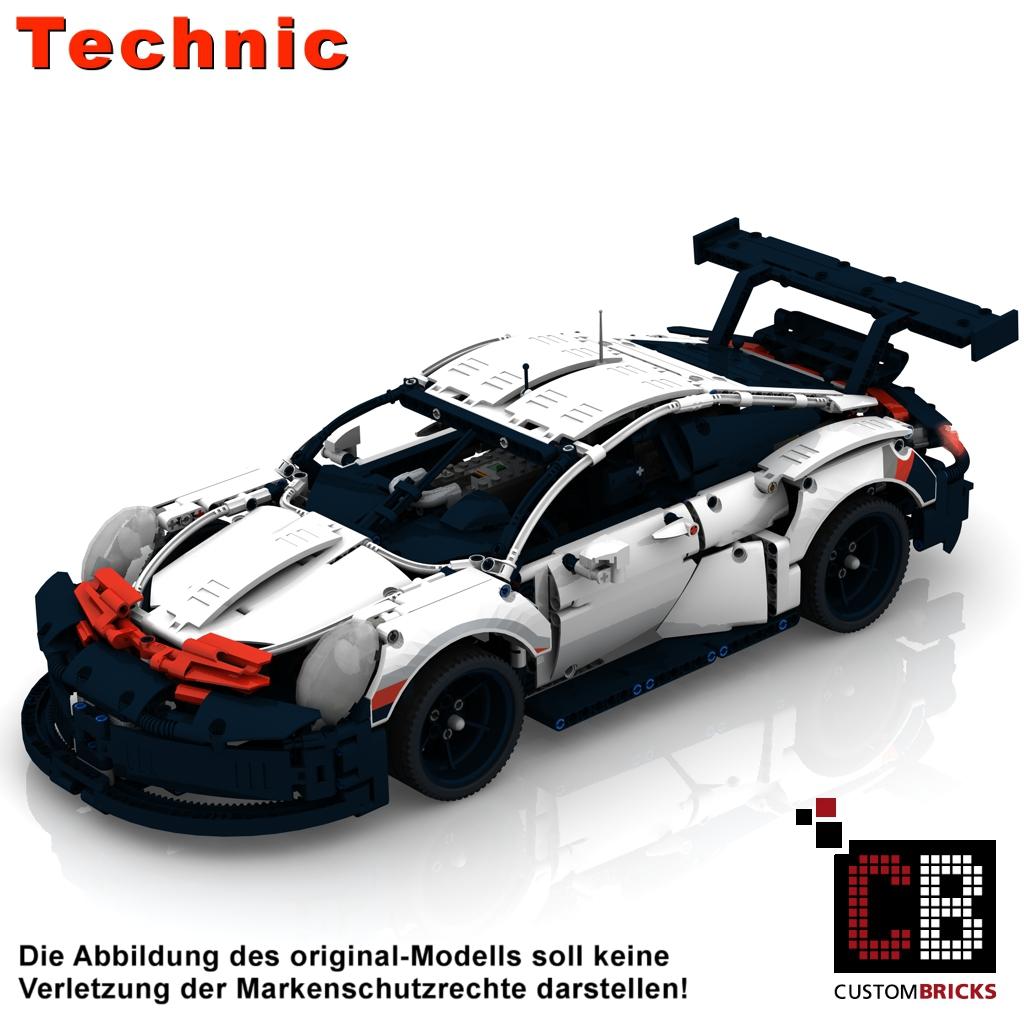 CUSTOMBRICKS de - LEGO Technic model Custombricks 42096 MOC