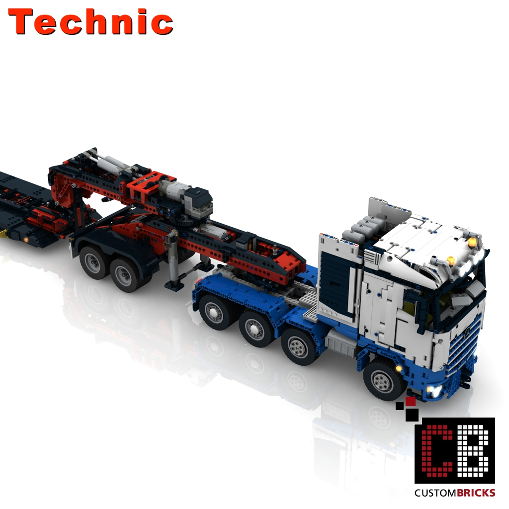 lego technic model custom custom arocs. Black Bedroom Furniture Sets. Home Design Ideas