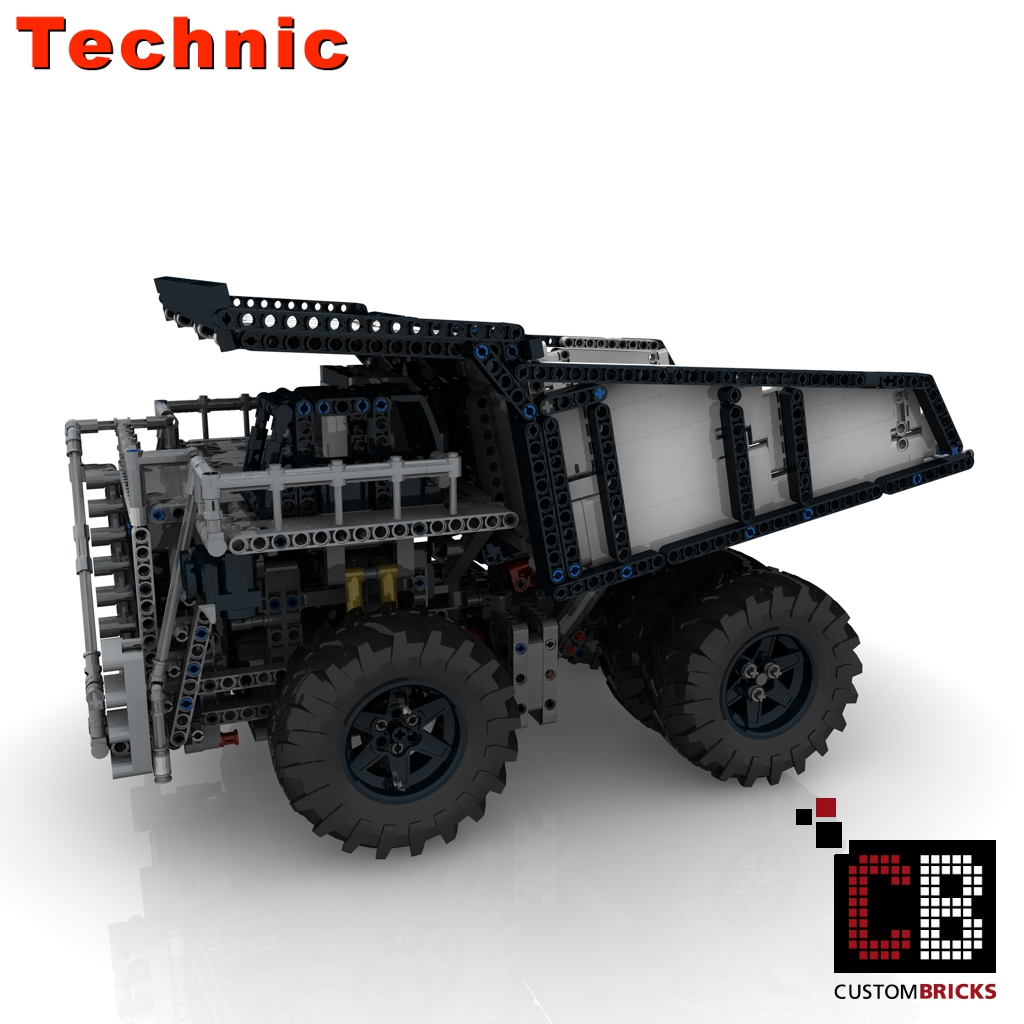 Custombricks De Lego Technic Model Custombricks Moc Instruction