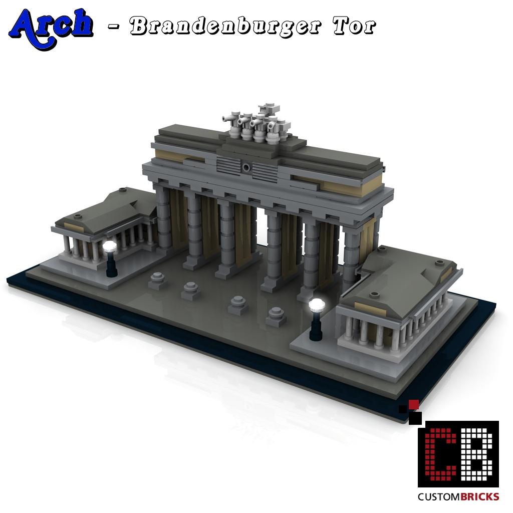 lego arch architecture serie brandenburger tor bauanleitung instruction. Black Bedroom Furniture Sets. Home Design Ideas