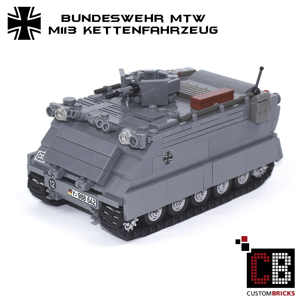 7260ebc912ad CUSTOMBRICKS.de - LEGO Custom MOC Bundeswehr Artillerie Artillery ...