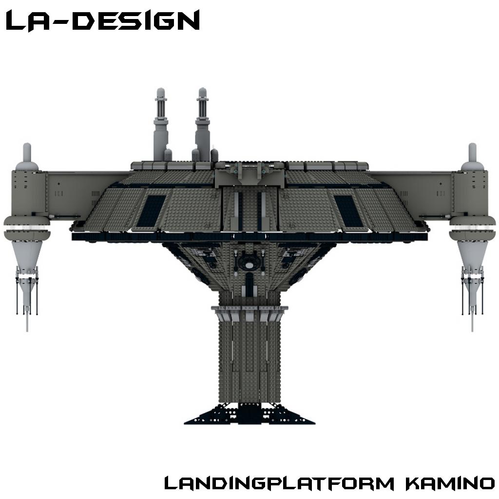 Custom kamino landeplattform f r star wars - Star wars amino ...