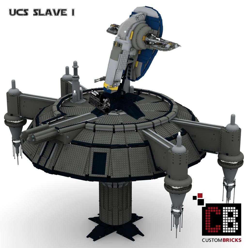 Custombricks Lego Custom Star Wars Custom Ucs Slave I Kamino