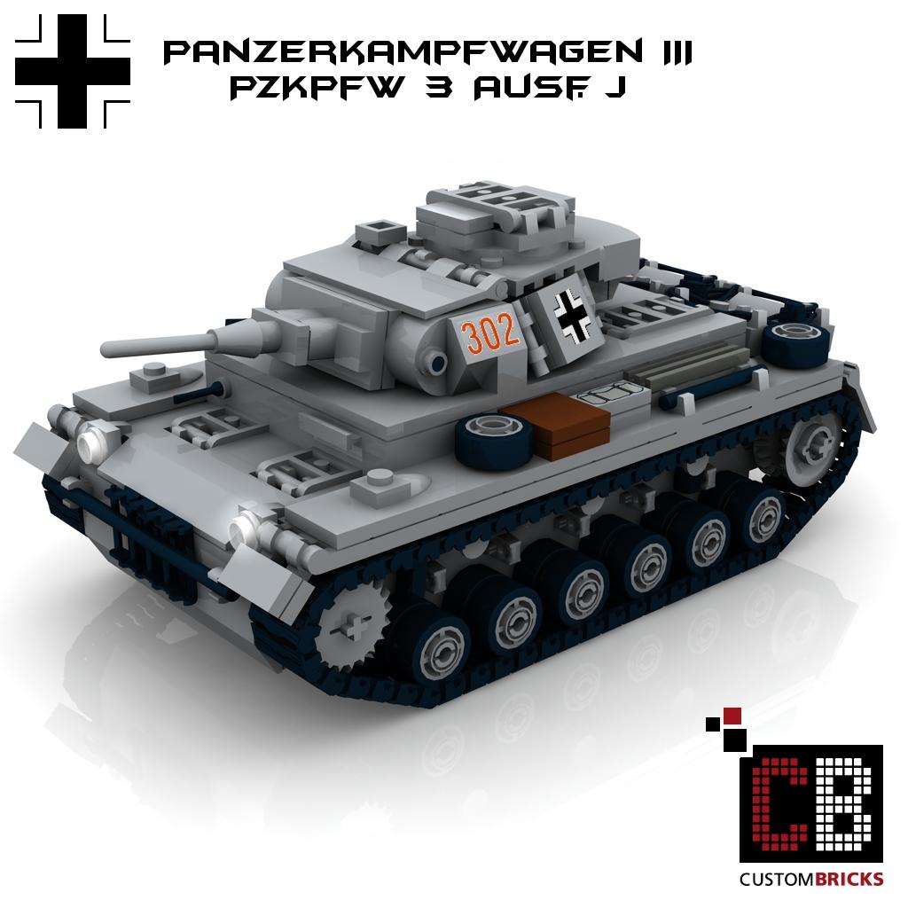 G for LEGO® Bricks CUSTOM PDF Instructions WW2 WWII StuG3 III Ausf