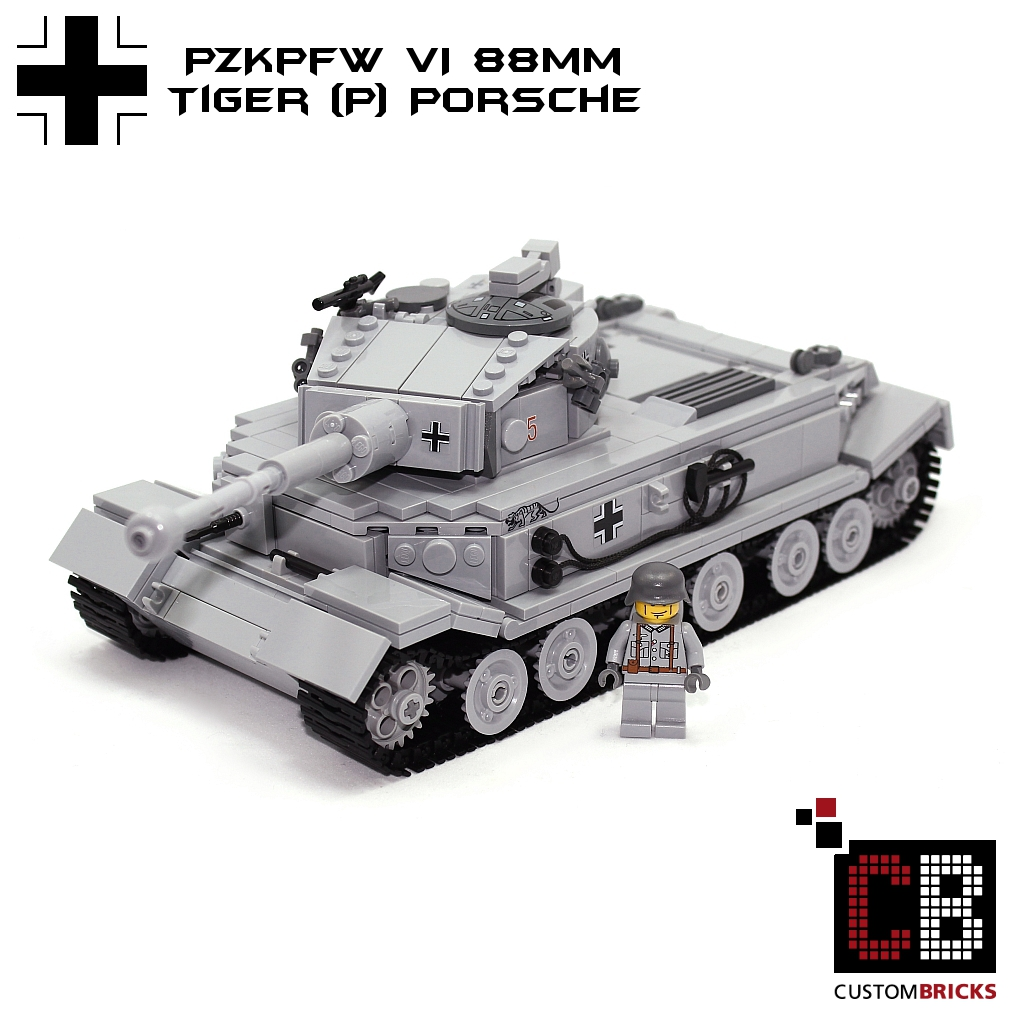 Custombricks Lego Ww2 Wwii Wehrmacht Sdkfz Panzer Tank