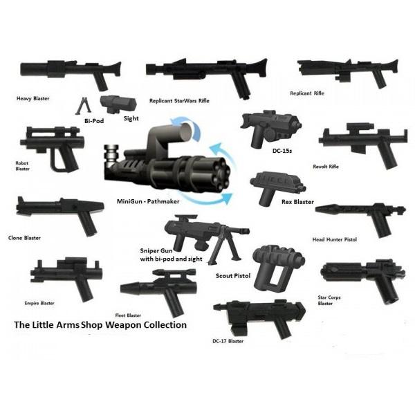 Little Arms Waffen für Lego Star Wars Figuren NEU MOC