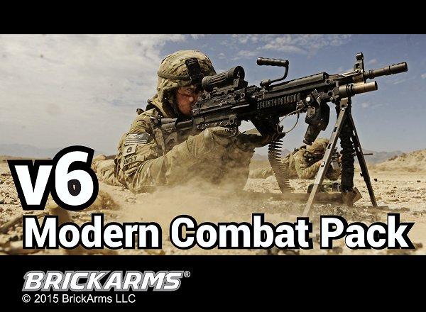 Custombricks Brickarms Brickarms Modern Weapon Set V6 Of 21