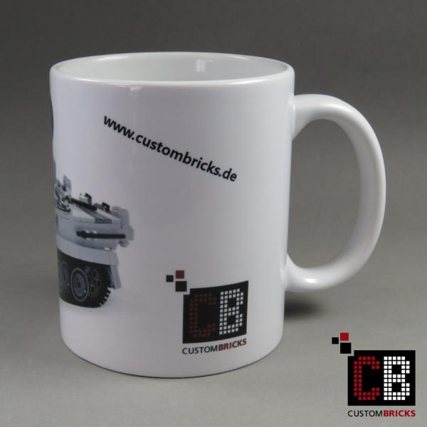 Cup printed with CB WW2 Tiger Tank